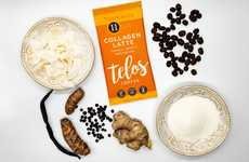 Instant Collagen Lattes - Telos Foods' Collagen Coffee Lattes Support Mind-Body Wellness