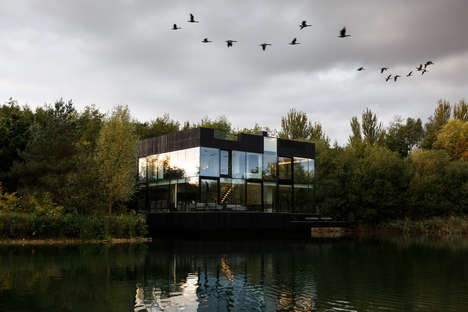 Partly Submerged Modern Villas