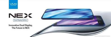 Multifaceted Dual-Display Smartphones - The Vivo NEX Dual Display Edition Has a Whopping 10GB of RAM
