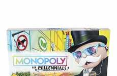 Generation-Specific Board Games - The Monopoly for Millennials Board Game Focuses on Experiences