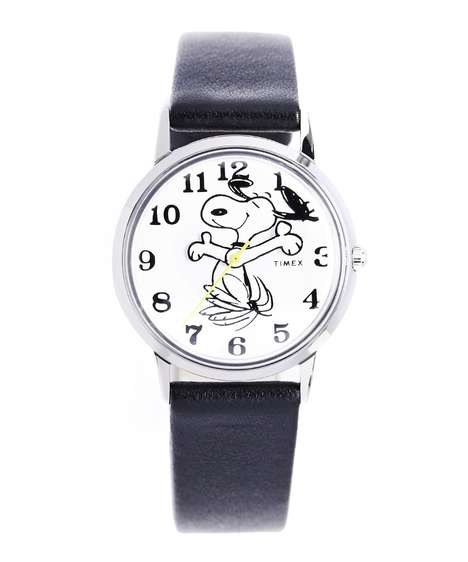 Old-School Cartoon Timepieces