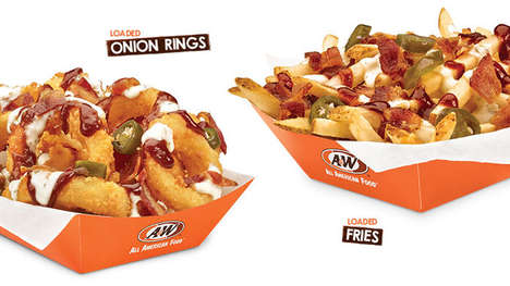 Topping-Loaded QSR Side Dishes - The A&W Loaded Sides are Available for a Limited-Time Only