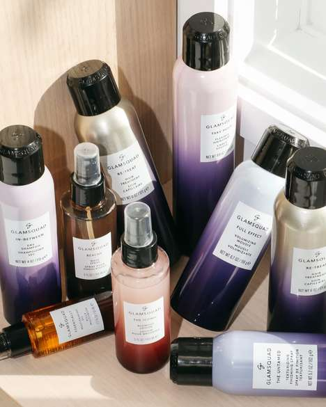 Professional-Level Hair Product Lines - Glamsquad Created a Range of Products Based Off Its Research