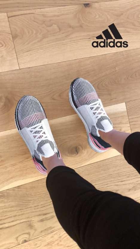 Social Media Sneaker Try-Ons