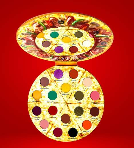 Pizza-Themed Makeup Palettes