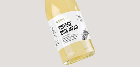 "Modernized Mead Spirits - The Gosnells Vintage Mead Was Crafted for ""The Modern Palate"""
