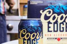 Double-Brewed Non-Alcoholic Beers - Coors Edge is an Accessible and Tasty Option for Dry January