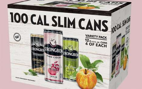 Low-Calorie Cider Packs