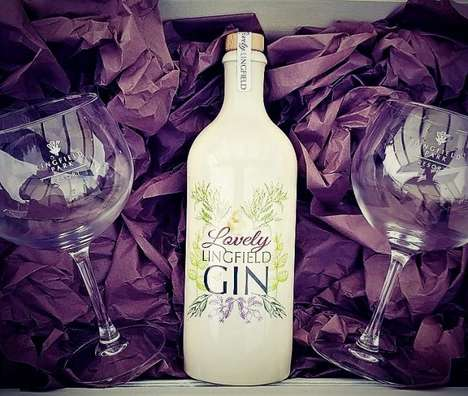 Commemorative Racetrack Gins - The Gin Kitchen has Developed a Turf-Infused Gin for Lingfield Park