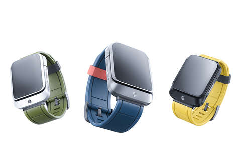Sliding Cellphone-Inspired Smartwatches
