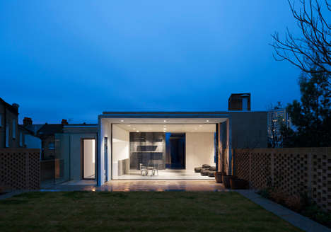 Concrete Slotted-In House Designs