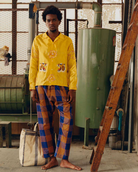 Artistically Poetic Menswear Lines