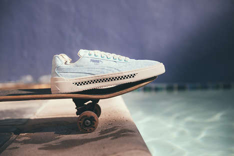70s-Inspired Skate Shoe Silhouettes