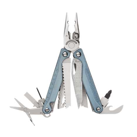 Limited-Edition Damascus Multitools