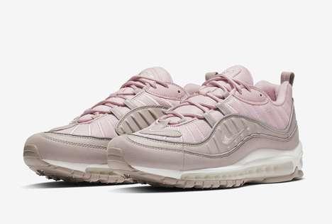 Elegantly Soft Pink Sneakers