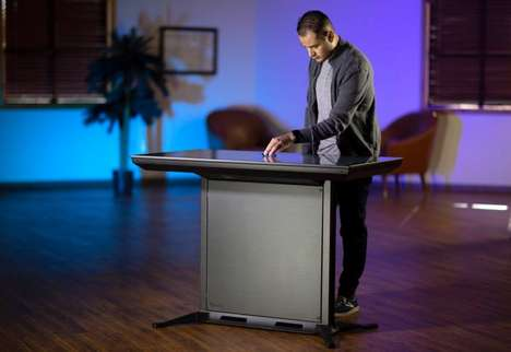 Advanced 4K Touchscreen Tables