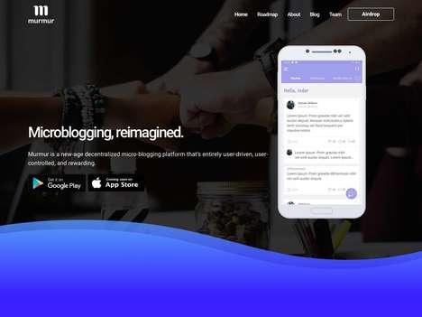 Decentralized Social Microblogging Apps