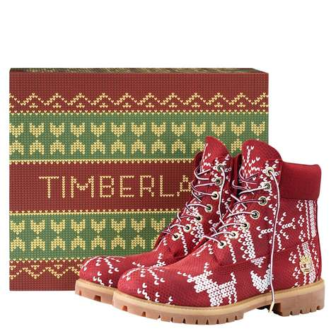 Gaudy Holiday Apparel Boots