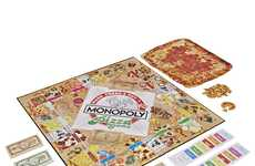 Pizza-Themed Board Games - Hasbro is Releasing a New Version of Monopoly Called 'Monopoly Pizza'