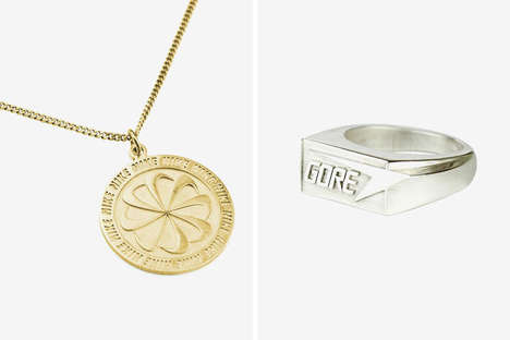 Sportswear-Inspired Custom Jewelry