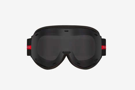 Luxe Foam-Padded Ski Goggles