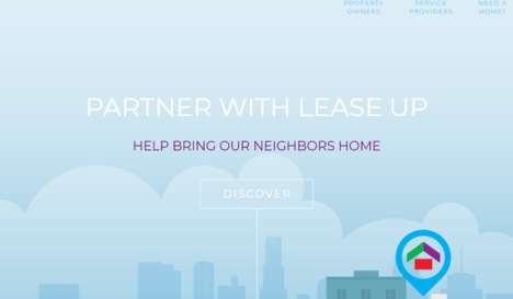 Homeless Renting Platforms - 'Lease Up' Helps Landlords Easily Rent Places to Homeless People