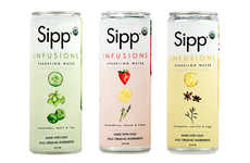 Herbaceous Sparkling Beverages