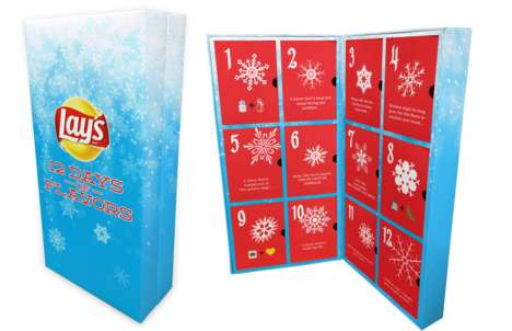 Potato Chip Advent Calendars