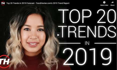 Free 2019 Trend Report - Trend Hunter Released its Top 20 Trends in 2019 Forecast Video