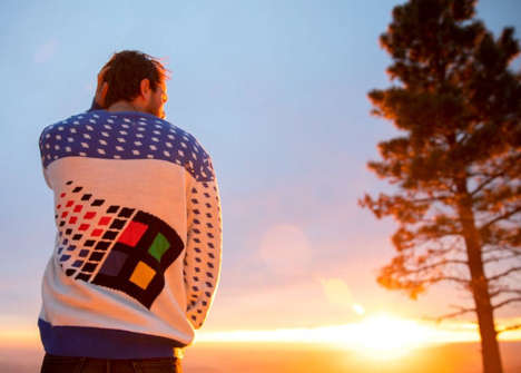 Retro OS Holiday Sweaters