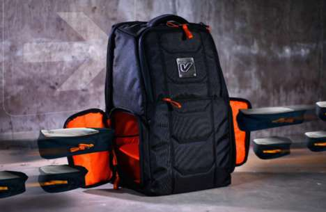 Compartmentalized Commuter Knapsacks - The Gruv Gear Elite Traveler Backpack is Ideal for Travel
