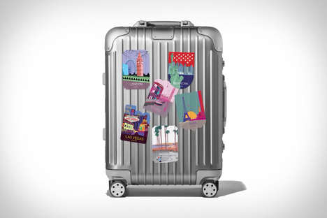 Prepaid Travel Suitcases - The RIMOWA + Skyhour Cabin Suitcase Comes with 12 Months of Travel