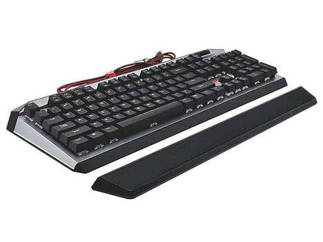 Tactile Custom Illumination Keyboards