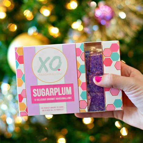 Festive Sugarplum Marshmallows