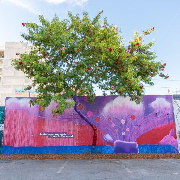 Colourful Life-Celebrating Murals