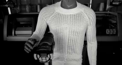 Heat-Treated Custom Sweaters - Ministry of Supply Offers Clothing That Can Be Adapted with Heat