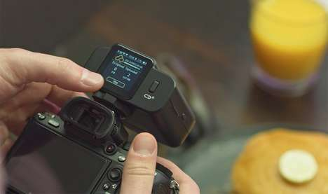 4G-Connected Camera Peripherals - The CamBuddy Plus Helps Photographers Auto-Backup Photos