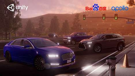 Virtual Autonomous Car Software - Baidu's Apollo Plan Uses a Game Engine to Test Autonomous Cars