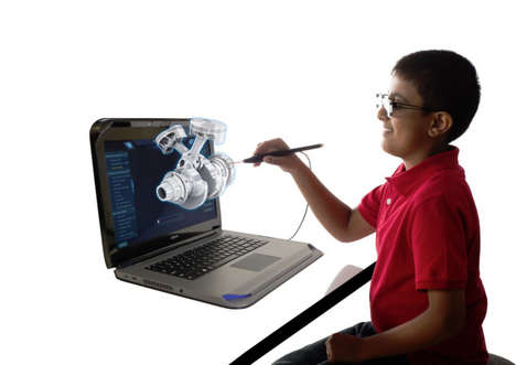 Educational VR Laptops - The Zspace Laptop Hopes to Help Kids Think with More Flexibility