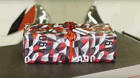 Car-Inspired Wrapping Paper