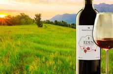 Eco-Friendly Wine Labels - The Ritrama Eden Paper Labels are Made from 50% Dried Grass Fibers