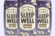Chocolatey Sleep Aid Drinks - The Sleep Well Chocolate Milk Drink Ensures a Good Night's Sleep