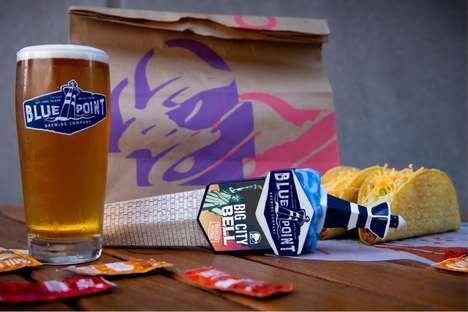 Taco Chain-Created Beers