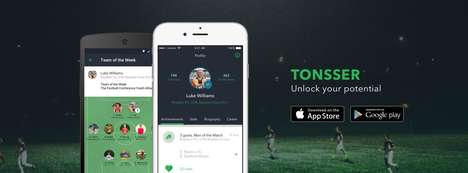 Social Media Sports Apps - The Tonsser App Hopes to Function as a Linkedin for Young Soccer Players