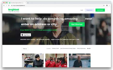 Streamlined Volunteering Apps