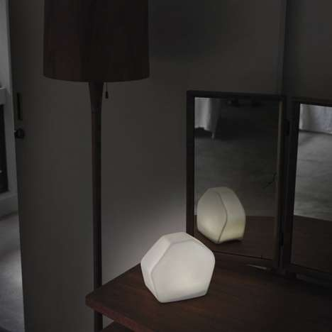 Illumination-Diffusing Porcelain Lamps