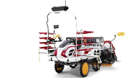 Autonomous Rice Agriculture Vehicles