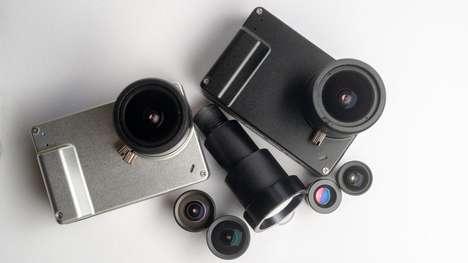 Palm-Sized Astronomy Cameras