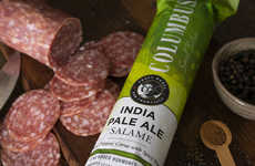 Beer-Flavored Cured Meats - The Columbus Craft Meats India Pale Ale Salami is Deliciously Artisanal