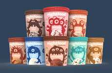 Sleep-Friendly Ice Creams - Nightfood is Using the Popularity of Ice Cream to Promote Better Sleep